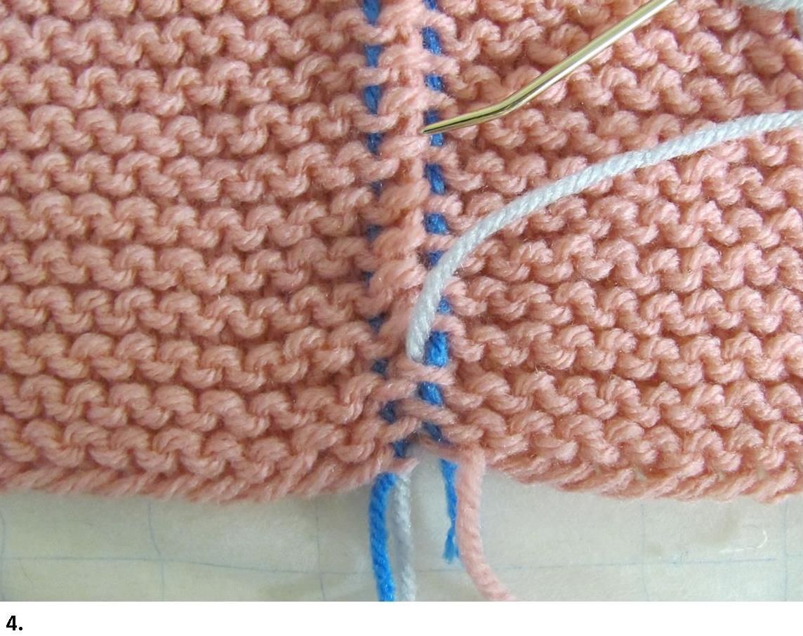 Knitting Joining Seams Garter Stitch : Garter Stitch Seams Invisible Join How-tos With Photos skerin