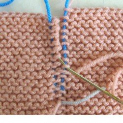 Garter Stitch Seams Invisible Join How-tos With Photos skerin