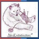No Knitstinction facing left to right