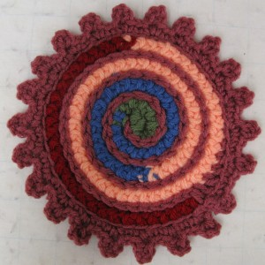 CROCHET I CORD HOT PAD