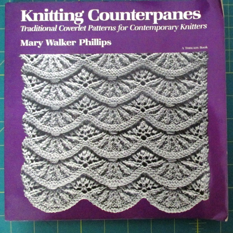 Knitting Counterpanes By Mary Walker Phillips Sk1068 40 Knit