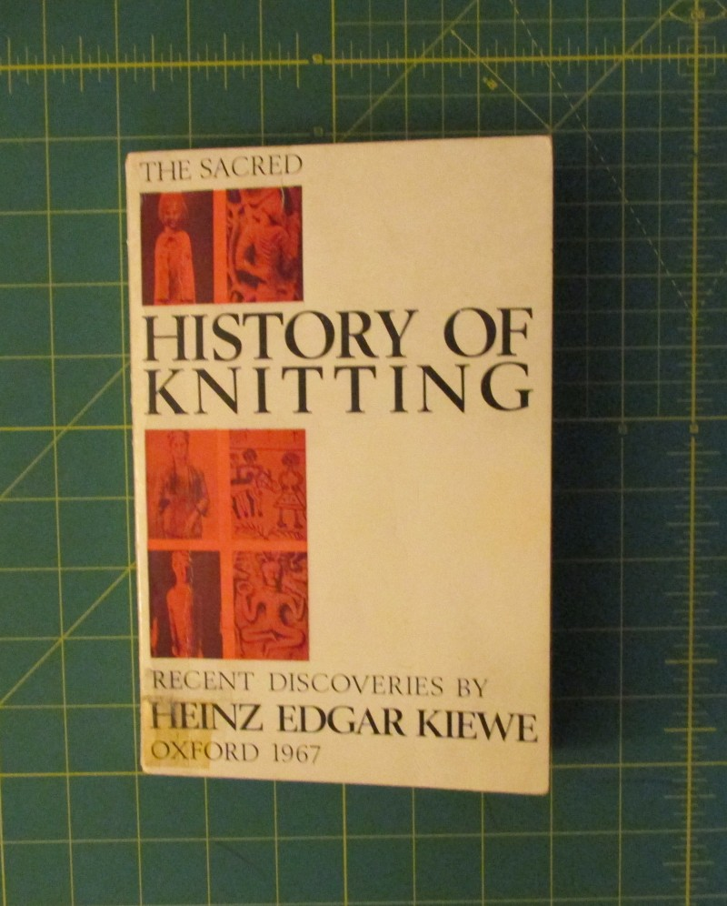 Knitting History Books : The sacred history of knitting recent discoveries by heinz