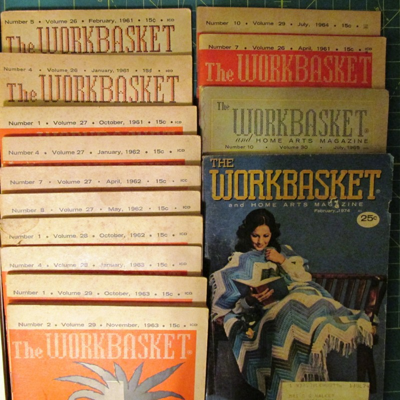 Workbasket Magazines 22 From 1954 61 And 4 Others Sk1020 33 Cash