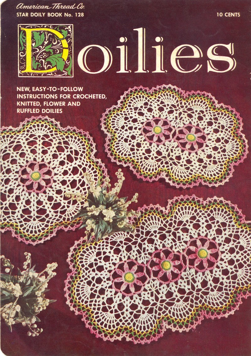 Doilies New Easy to Follow Instructions for Crocheted, Knitted ...