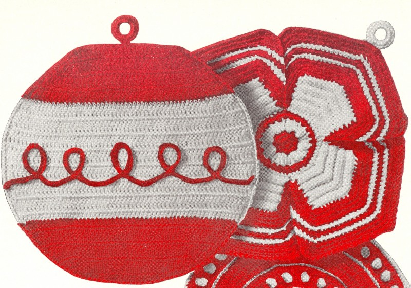 Pot Holders Hot Plate Covers Swedish Embroidery Book 101 Sk227 Cash