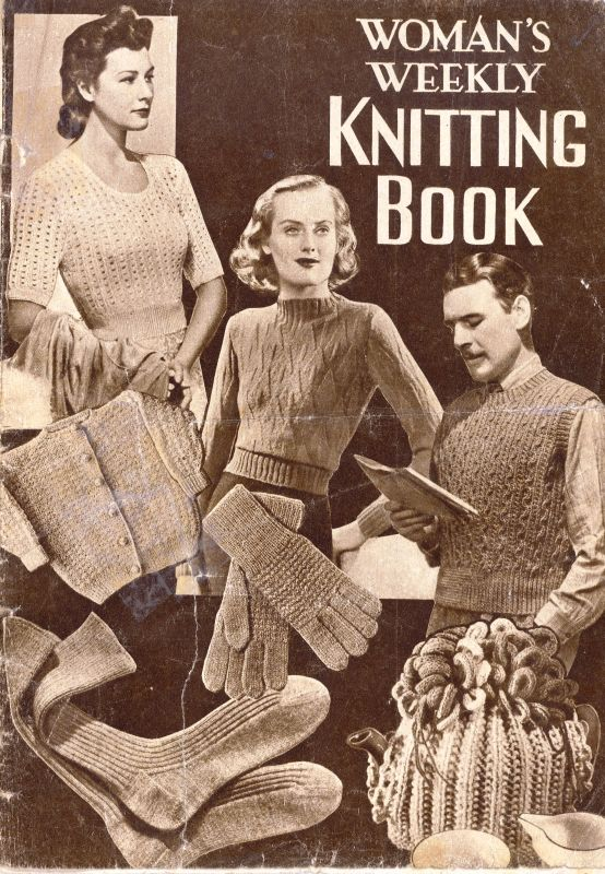 Womans Weekly Knitting Book By Amalgamated Press London Sk314 Cash