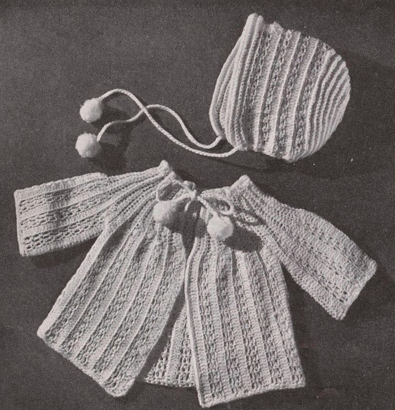 Hand Knits by Beehive Baby Book Book 143 1950 Patons and ...