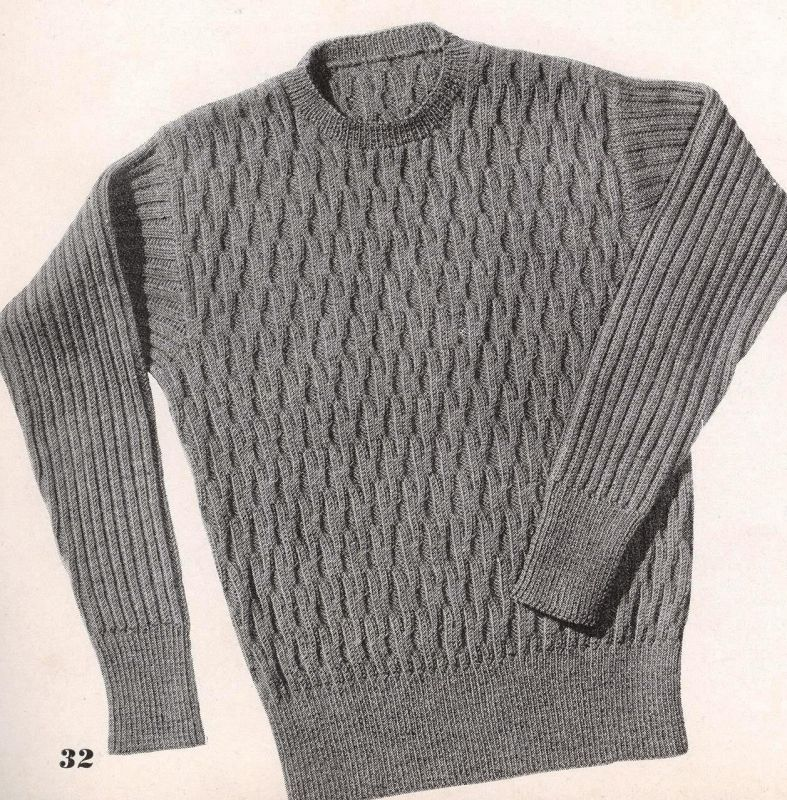 Hand Knits by Beehive Sweaters for Men Book 123 1942 ...
