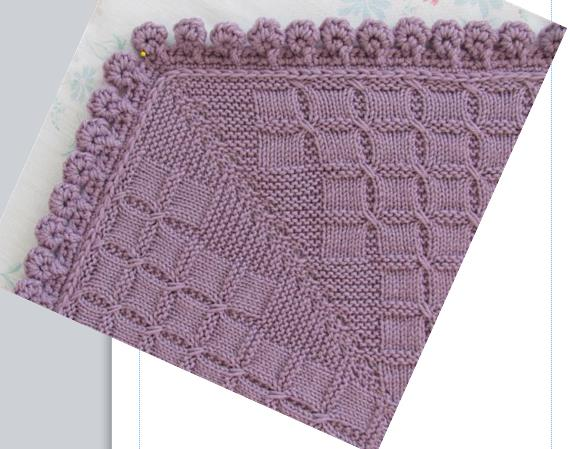 Crochet Stitches Picot Edging : Home / Crochet Patterns / Picot Balls Edging in Crochet