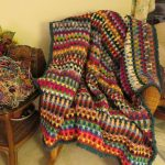drop stitch afghan