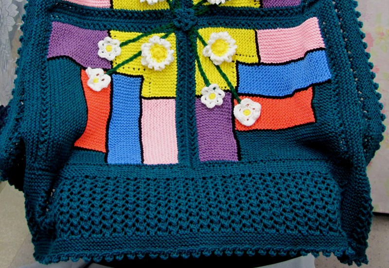 Spring Stained Glass Knit Knit Amp Crochet Patterns