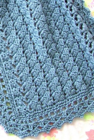 Doris Prayer Shawl Completed Brighter