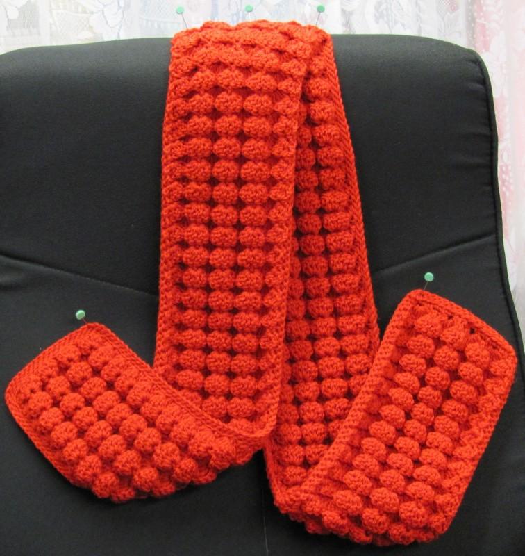 Reversible Scarves crochet