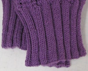 How To Create Wk A Knitted Rib Onto A Crocheted Vest Or Sweater.FEATURE PHOTO FOR HOME PAGE