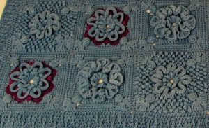 Isabella Detail Of Afghan Section