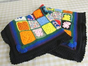 0.2 Lenaghan Granny Square Afghan And A Flair