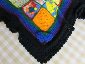 0.3 Lenaghan Granny Square Afghan And A Flair