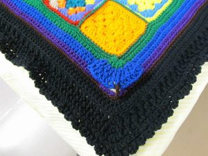 0.5 Lenaghan Granny Square Afghan And A Flair