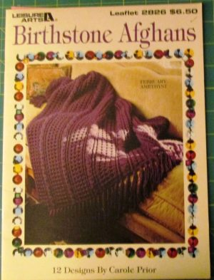 Birthstone Afghans Leisure Arts