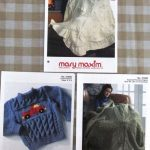 Mary Maxim Three Knit Pattern Leaflets