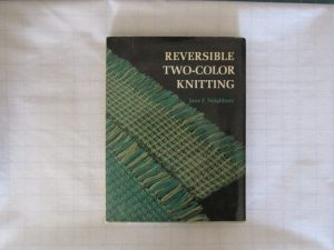 Reversible Two Color Knitting Jane Neighbors