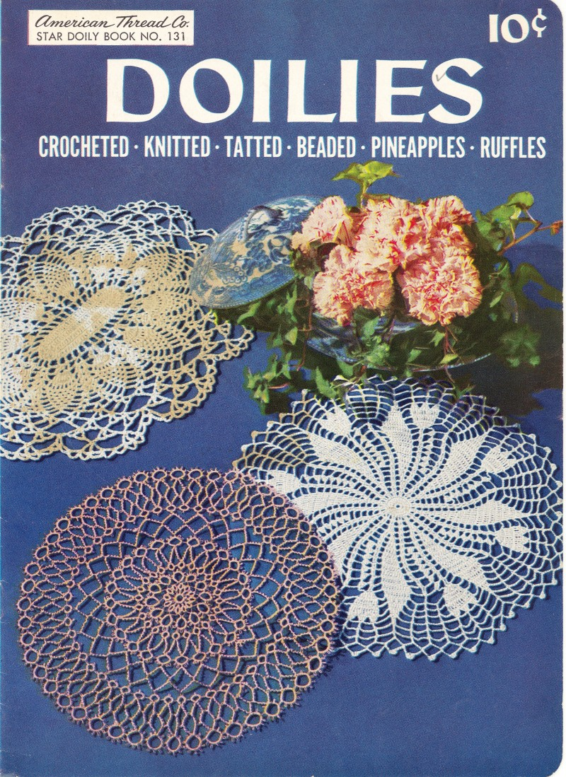 Doilies Crocheted Knitted Tatted Beaded Pineapples